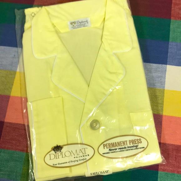 Vintage Diplomat Pajamas Set